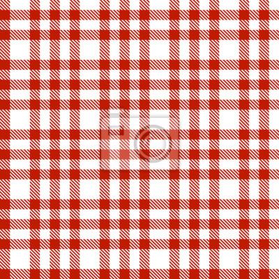 Rot Muster Karo - endlos