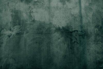 Naklejka Rough grunge concrete texture _ ever green cement mortar background