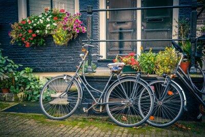 Naklejka Rowery w Amsterdamie