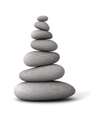 Naklejka Równoważenie kamienie