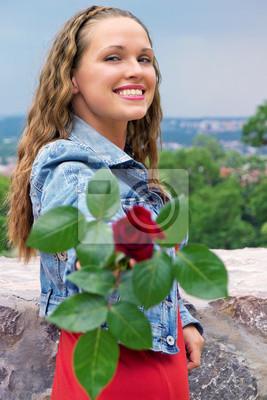 Róża na prezent