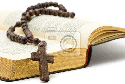 Różaniec z Holy Bible