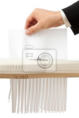 Rozdrabnianie papieru