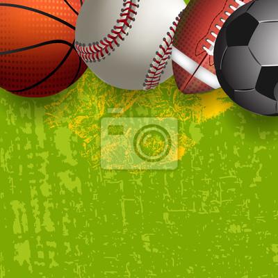Różne sportowe Piłki