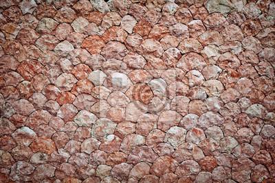 Różowy tle ściany z kamienia