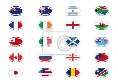 Rugby - Equipes de la Coupe du Monde 2011