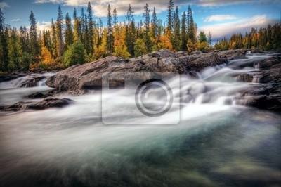 Rzeka tajemnic jesienią