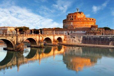 Naklejka Rzym - Castel święty Angelo, Włochy