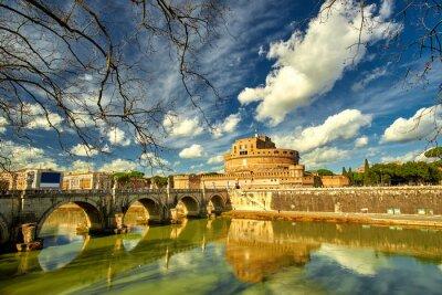 Naklejka Rzym - Castel świętym Angelo, Włochy