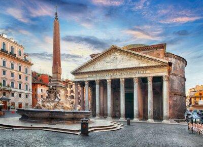 Naklejka Rzym - Panteon, nikt