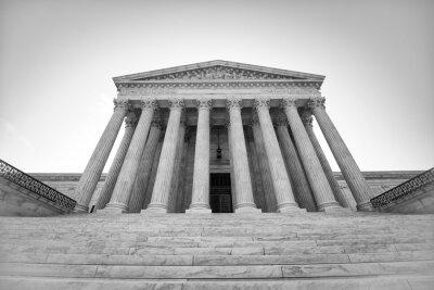 Naklejka Sąd Najwyższy Stanów Zjednoczonych
