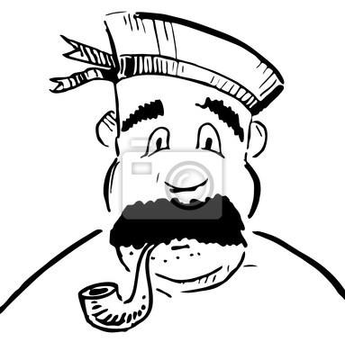 Sailor z rury tytoniu
