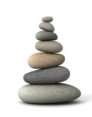 Naklejka saldo kamienie
