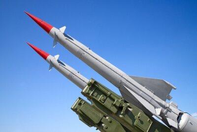 Naklejka SAM missiles