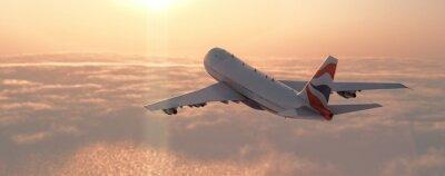 Naklejka Samolot komercyjny