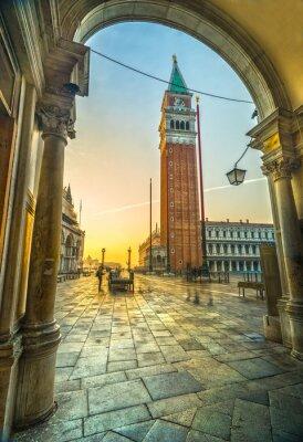 Naklejka San Marco, Wenecja, Włochy
