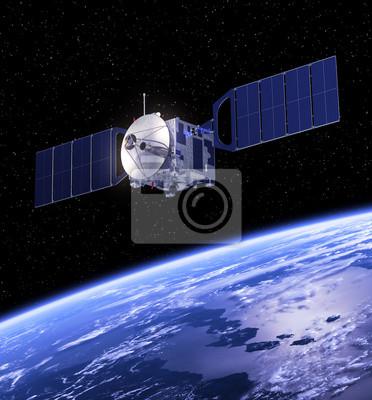 Satellite orbicie Ziemi