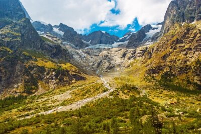 Naklejka Scenic Krajobraz Górski
