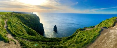 Naklejka Scenic View Of Sea Against Sky