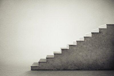 Naklejka schody betonowe