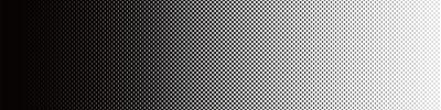 Naklejka Screentone Graphics_Halftone Gradacja_Black