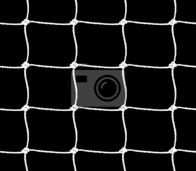Naklejka Seamless pattern of soccer goal net or tennis net