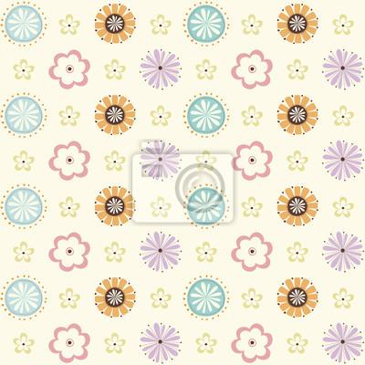 seamless_retro_floral