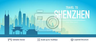 Shenzhen sławny Porcelanowy miasto głąbika.