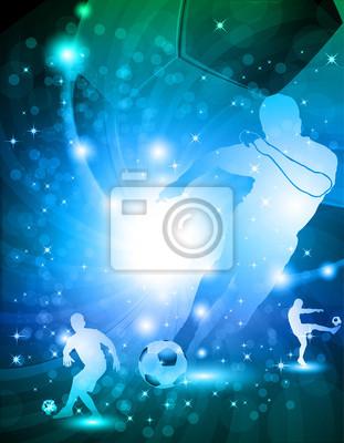 Shiny abstrakcyjny Piłka nożna