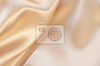 Naklejka Shiny beige luxury silk background