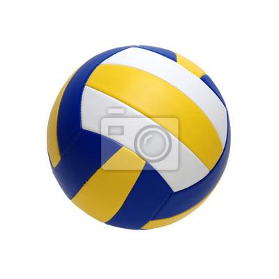Siatkówka piłka odizolowywająca na bielu