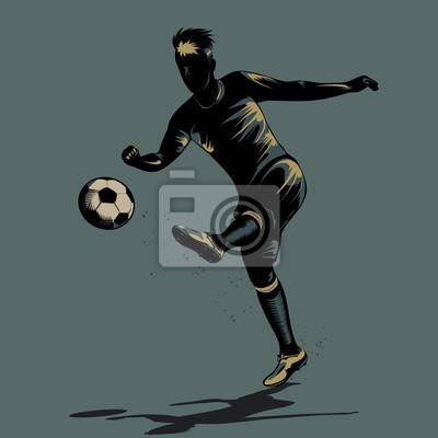 siatkówki pół abstrakcyjny Piłka nożna