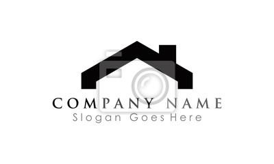 simple roof logo