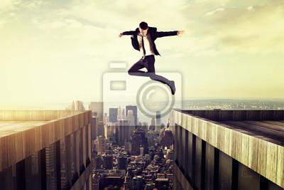 Naklejka skakać