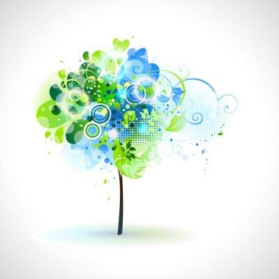 Skład wiosna z drzewa przetargowej