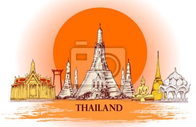 Skyline z Tajlandii