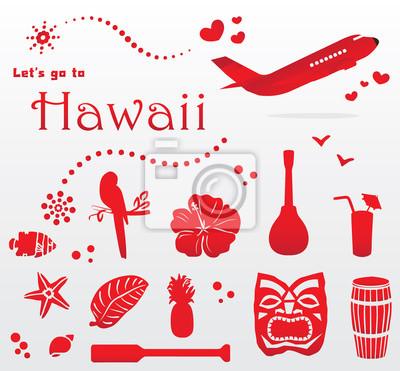 słodkie Hawaje zestaw podróży