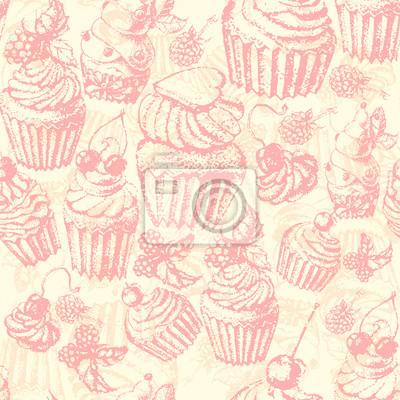 Słodkie szwu słodkie ciasto