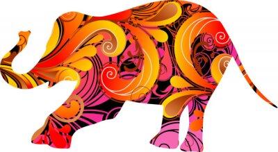Naklejka Słoń dekoracyjne