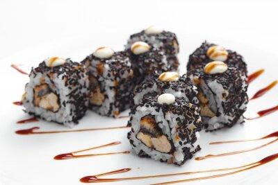 Naklejka smaczne sushi