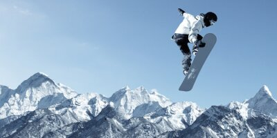 Naklejka Snowboard Sport