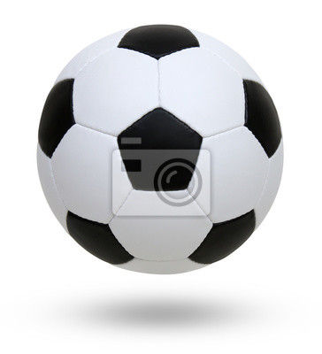 soccer ball white