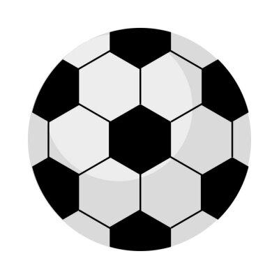soccer balloon sport equipment icon