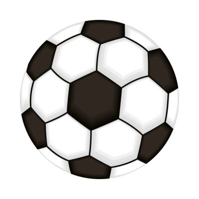 soccer balloon sport isolated icon