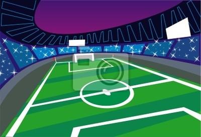 Soccer Stadium szeroki kąt perspektywy