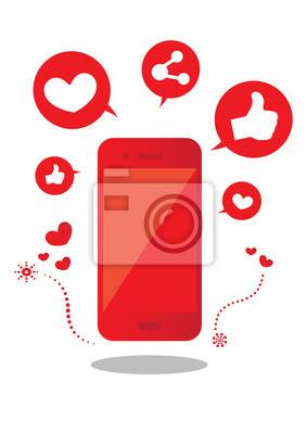 social media i smar tphone