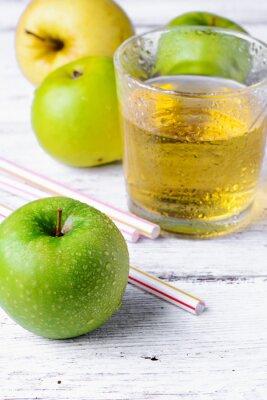 Naklejka sok z zielonego jabłka