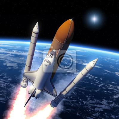 Space Shuttle Dopalacze rakiet na paliwo stałe Separacja