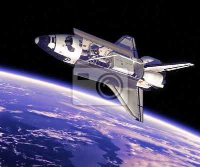 Space Shuttle w kosmosie