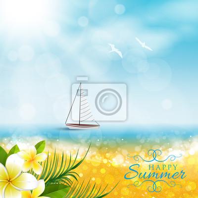 Naklejka Spiaggia, Barca, Nieruchomości